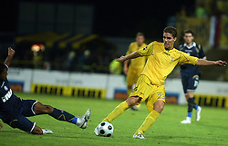 Luka Zinko  (23) of Domzale at 1st football game of 2nd Qualifying Round for UEFA Champions league between NK Domzale vs HNK Dinamo Zagreb, on July 30, 2008, in Domzale, Slovenia. Dinamo won 3:0. (Photo by Vid Ponikvar / Sportal Images)