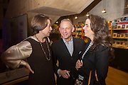 CATHERINE GIBBS; NEIL MENDOZA; AMELIA MENDOZA, Fashion and Gardens, The Garden Museum, Lambeth Palace Rd. SE!. 6 February 2014.