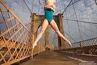 Dance As Art- The New York City Dance Photography Project- Brooklyn Bridge with Erika Citrin
