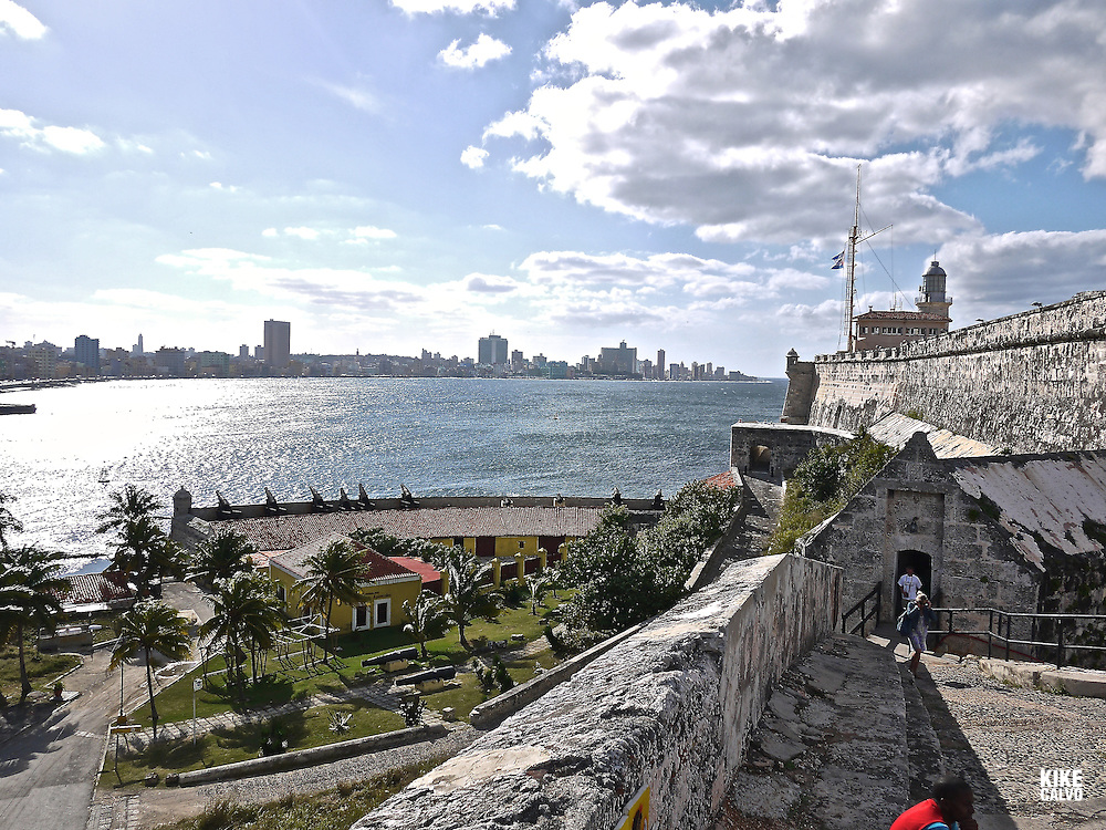 Havana views from El Morro Castle and La Cabaña Fortress