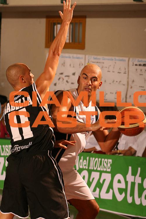 DESCRIZIONE : Termoli Precampionato Lega A1 2006-07 Eldo Napoli Caserta <br /> GIOCATORE : Morena <br /> SQUADRA : Eldo Napoli <br /> EVENTO : Precampionato Lega A1 2006-2007 <br /> GARA : Eldo Napoli Caserta <br /> DATA : 10/09/2006 <br /> CATEGORIA : Passaggio <br /> SPORT : Pallacanestro <br /> AUTORE : Agenzia Ciamillo-Castoria/G.Ciamillo <br /> Galleria : Lega Basket A1 2006-2007 <br /> Fotonotizia : Termoli Precampionato Italiano Lega A1 2006-2007 Eldo Napoli Caserta <br /> Predefinita :