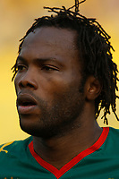 Photo: Steve Bond/Richard Lane Photography.<br />Egypt v Cameroun. Africa Cup of Nations. 22/01/2008. Andre Bikey of Cameroon and Reading