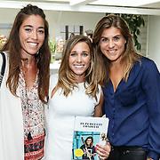 NLD/Amsterdam/20150907 - Boekresentatie 'In perfecte conditie' van Ellen Hoog samen met Naomie van As en Kim Lammers