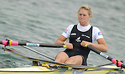 Munich, GERMANY, 30.08.2007,  Start of the Women's  Single Sculls Semi-Final,  NZL W1X, Emma TWIGG.  Fifth day, at the 2007 World Rowing Championships, taking place on the   Munich Olympic Regatta Course, Bavaria. [Mandatory Credit. Peter Spurrier/Intersport Images]..... , Rowing Course, Olympic Regatta Rowing Course, Munich, GERMANY