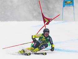 Kristoffer Jakobsen of Sweden during 1st run of Men's Giant Slalom race of FIS Alpine Ski World Cup 57th Vitranc Cup 2018, on 3.3.2018 in Podkoren, Kranjska gora, Slovenia. Photo by Urban Meglič / Sportida