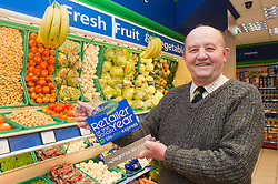 Blakemore Retailer of the year Grimsby Regional Finalist Derek Hallett  of Hallets in Cleethorpes..21 January 2010.Images © Paul David Drabble.