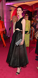 ERIN O'CONNOR at The Naked Heart Foundation's Fabulous Fund Fair hosted by Natalia Vodianova and Karlie Kloss at Old Billingsgate Market, 1 Old Billingsgate Walk, London on 20th February 2016.