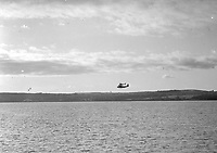 H3236<br /> 'Composite' Plane's Flight from Foynes, Mayo, flight in the air, 20 July 1938.<br /> (Part of the Independent Newspapers Ireland/NLI Collection)
