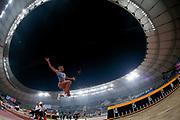 Maryna Bekh-Romanchuk (Ukraine), Long Jump Women Qualification - Group B, during the 2019 IAAF World Athletics Championships at Khalifa International Stadium, Doha, Qatar on 5 October 2019.
