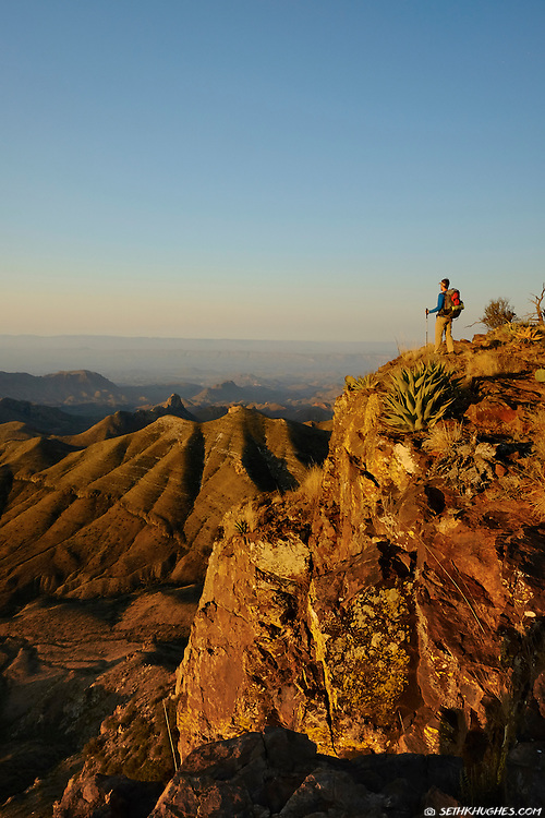 South Rim, Chisos Mountains, Big Bend National Park, Texas