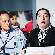 20160615 - Brussels , Belgium - 2016 June 15th - European Development Days - Tapping into the economic potential of refugees - A win-win for all ? Aimee Karam , Deputy Project Manager and Protection Expert , Ministry of Social Affairs , Lebanon © European Union