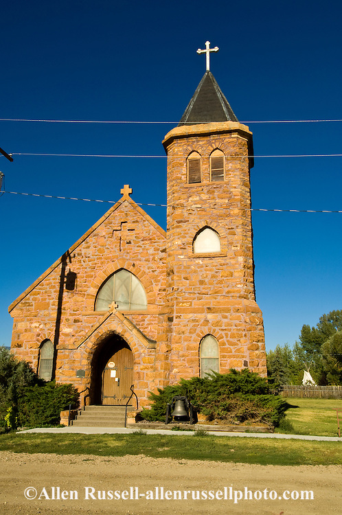 St. Mary of the Assumption Catholic Church,  Laurin, Montana, Built 1901, National Register of Historical Places