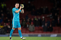LONDON, ENGLAND - Thursday, December 5, 2019: Arsenal's goalkeeper Bernd Leno during the FA Premier League match between Arsenal FC and Brighton & Hove Albion FC at the Emirates Stadium. (Pic by Vegard Grott/Propaganda)