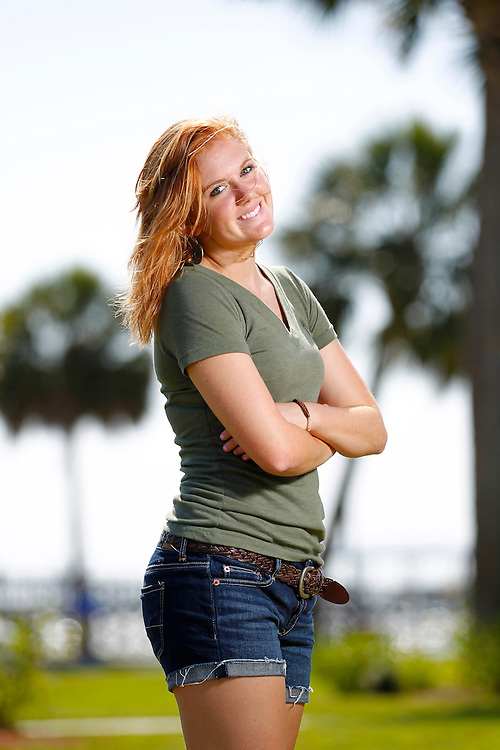 Senior photos of Megan Kahle, River Ridge Class of 2011, by Mike Carlson Photography