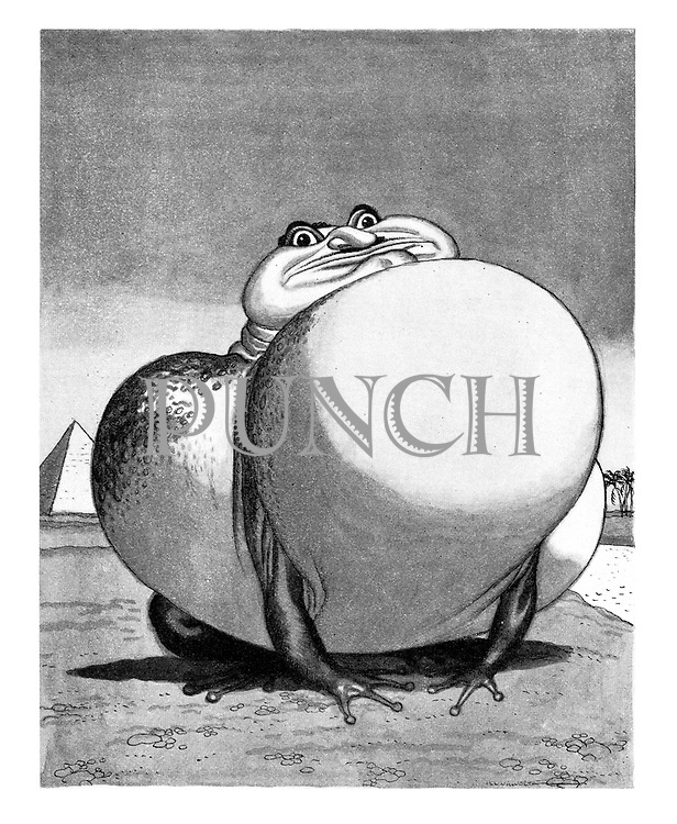 (Nasser - Bloated Bullfrog of the Nile)