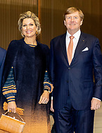 King Willem-Alexander and Queen Maxima of The Netherlands visit the Fraunhofer Institute for Wind Energy in Bremer Harber, Bremen, 6 March 2019. The Dutch King and Queen are in Bremen for a one day visit as part of their visits to all German states.  COPYRIGHT ROBIN UTRECHT