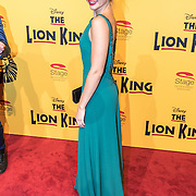 NLD/Scheveningen/20161030 - Premiere musical The Lion King, Isabel Vedder