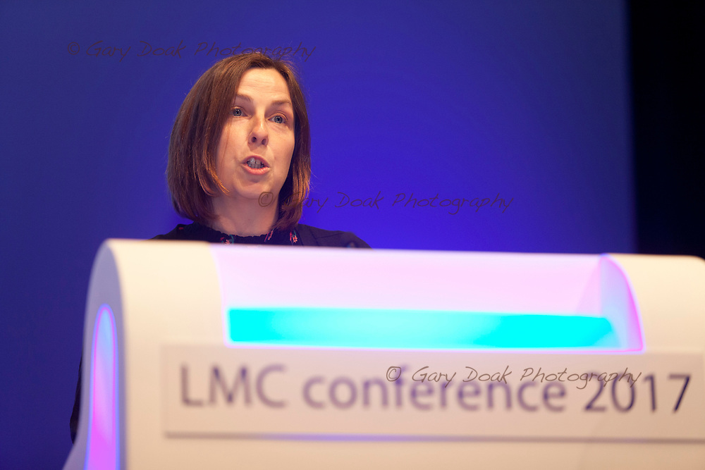 Caroline Rickard<br /> BMA LMC's Conference<br /> EICC, Edinburgh<br /> <br /> 18th May 2017<br /> <br /> Picture by Gary Doak