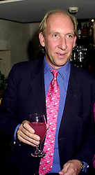VISCOUNT DAVENTRY at a party in London on 14th November 2000.OJC 25