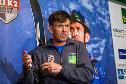 Davo Karnicar during presentation of skiing on mountain K2, on May 11, 2017, in Tus Planet Kranj, Kranj, Slovenia. Photo by Ziga Zupan / Sportida