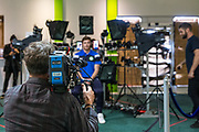 Lots of press interest during the Forest Green Rovers Photocall at the New Lawn, Forest Green, United Kingdom on 31 July 2017. Photo by Shane Healey.