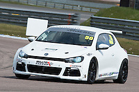 #50 Darrelle WILSON  Volkswagen  Scirocco Milltek Sport Volkswagen Racing Cup at Rockingham, Corby, Northamptonshire, United Kingdom. April 30 2016. World Copyright Peter Taylor/PSP.