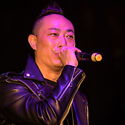 丹尼.翁,Danny Weng performs at the Moon festival - The big feast for the chinese community and the 70th Anniversary of China at Chinatown Square on the 15th September 2019, London, UK.