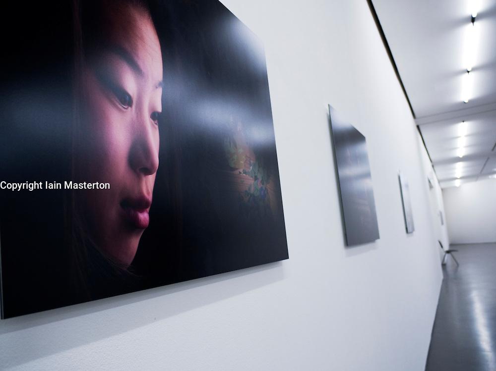 Exhibits on display at Kunsthalle Dusseldorf, Kunstverein for Rhineland and Westfalen in Dusseldorf Germany