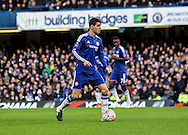 Oscar of Chelsea in action during the The FA Cup match between Chelsea and Scunthorpe United at Stamford Bridge, London, England on 10 January 2016. Photo by Ken Sparks.