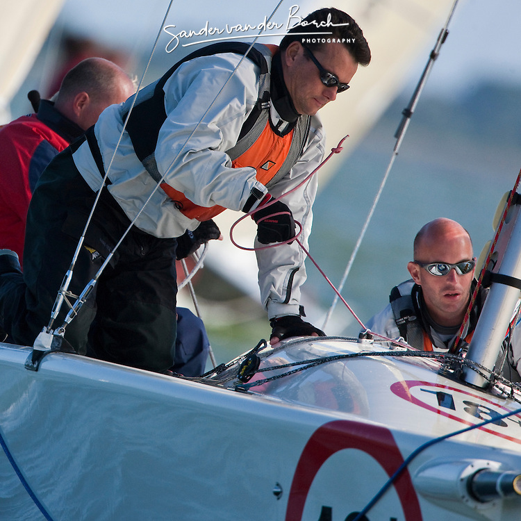 Medemblik, the Netherlands, September 12th 2009. Maxfun NK. © Sander van der Borch