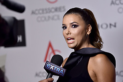 Actress Eva Longoria is interviewed as she attends the Accessories Council's 21st Annual celebration of the ACE awards at Cipriani 42nd Street in New York, NY, on August 7, 2017. (Photo by Anthony Behar) *** Please Use Credit from Credit Field ***