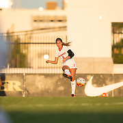 18 September 2016: The San Diego State Aztecs women's soccer team took on 24/23 Texas Tech Sunday evening at the SDSU Sports Deck. The Aztecs lost 1-0 to the Red Raiders. www.sdsuaztecphotos.com