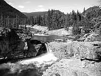 Elbow Falls<br /> Kanaski's Country   Photo: Peter Llewellyn