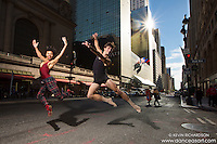 Dance As Art Photography Project with Andy Jacobs and Khadija Griffth- 42nd Street New York City