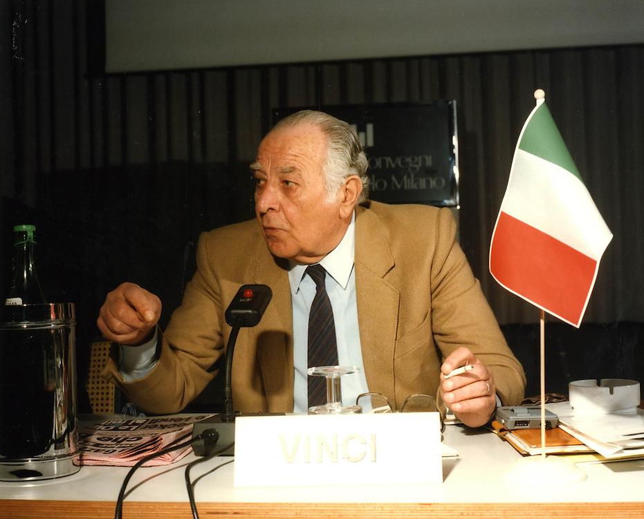 Convegno Internazionale Milano Hotel Michelangelo 1987<br /> vinci