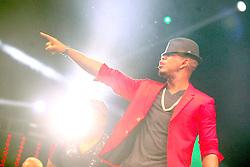 Ne-Yo no palco principal do Planeta Atlântida 2014/RS, que acontece nos dias 07 e 08 de fevereiro de 2014, na SABA, em Atlântida. FOTO: Emmanuel Denaui/ Agência Preview