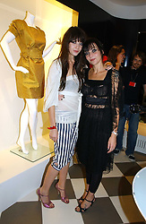 Left to right, DAISY LOWE and her mother PEARL LOWE at a party to celebrate the opening of PPQ Mayfair at 47 Conduit Street, London W1 on 18th September 2006.<br /><br />NON EXCLUSIVE - WORLD RIGHTS
