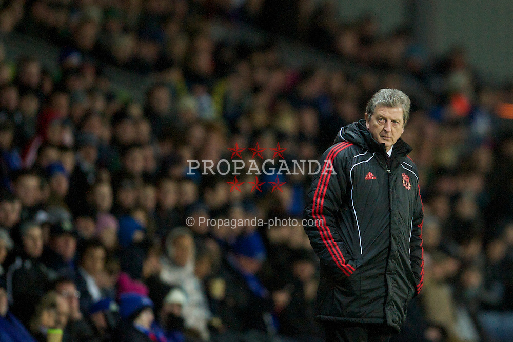 BLACKBURN, ENGLAND - Wednesday, January 5, 2011: Liverpool's manager Roy Hodgson against Blackburn Rovers during the Premiership match at Ewood Park. (Pic by: David Rawcliffe/Propaganda)