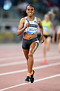 Gudaf Tsegay (ETH) places third in the women's 1,500m in 3:59.96during the 39th Golden Gala Pietro Menena in an IAAF Diamond League meet at Stadio Olimpico in Rome on Thursday, June 6, 2019. (Jiro Mochizuki/Image of Sport)