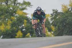 September 15, 2017 - Chenghu City, United States - Jure Rupnik from H&R Block Pro Cycling team during the fourth stage of the 2017 Tour of China 1, the 3.3 km Chenghu Jintang individual time trial. .On Friday, 15 September 2017, in Jintang County, Chenghu City,  Sichuan Province, China. (Credit Image: © Artur Widak/NurPhoto via ZUMA Press)
