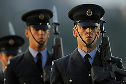 Members of the military perform - Photo mandatory by-line: Joe Meredith/JMP - Mobile: 07966 386802 - 11/09/14 - The Invictus Opening Ceremony - London - Queen Elizabeth Olympic Park