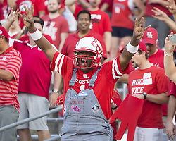 September 16, 2017 - Houston, TX, USA - Houston Cougars fans before the start of the college football game between the Houston Cougars and the Rice Owls at TDECU Stadium in Houston, Texas. (Credit Image: © Scott W. Coleman via ZUMA Wire)