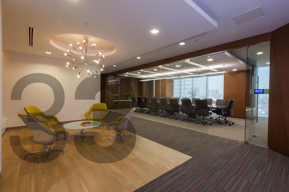 El despacho de arquitectos ZVA diseño y ejecutó los interiores del ...
