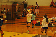 Oxford High vs. Pontotoc in girls high school volleyball action in Oxford, Miss. on Thursday, August 9, 2012.