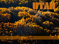 The 2019 Utah by Air Calendar is a 28 page, 9x12&quot; wall calendar. It features our stunning aerial photography of the unique and beautiful landscapes of Utah. The calendar has a heavy-weight coated cover and smooth, full-color pages with a different photograph for each month of the year. This calendar is custom designed by us and will enhance the decor of any office or home. Get one for you and all your friends! The perfect Christmas gift reminds people of the beauty of the Utah landscape all year long.<br />