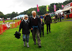 Jennifer and Jeremy Browne pictured at the Westport Festival of Music and Performing Arts.<br /> Pic Conor McKeown