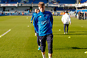 Ex Leeds United player, Queens Park Rangers midfielder, on loan from Tottenham Hotspur, Jack Clarke (47) warming up  during the EFL Sky Bet Championship match between Queens Park Rangers and Leeds United at the Kiyan Prince Foundation Stadium, London, England on 18 January 2020.