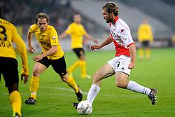 23-10-2009 VOETBAL: FC UTRECHT - RODA: UTRECHT<br /> Utrecht wint met 2-1 van Roda / Jacob Lensky<br /> ©2009-WWW.FOTOHOOGENDOORN.NL