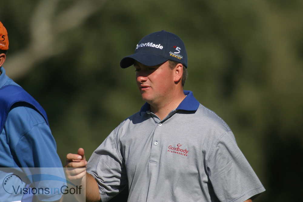 Graeme McDowell 2004<br /> Volvo Masters<br /> Photo credit:  Mark Newcombe / www.visionsingolf.com