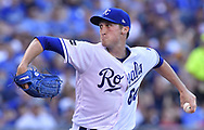 June 20, 2017 - Kansas City, MO, USA - Kansas City Royals pitcher Matt Strahm throws in the first inning against the Boston Red Sox at Kauffman Stadium in Kansas City, Mo., on Tuesday, June 20, 2017. (Credit Image: © John Sleezer/TNS via ZUMA Wire)
